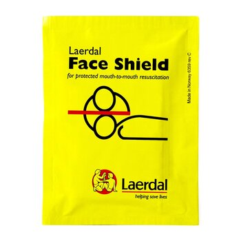 Laerdal Face Shield Notfallbeatmungstuch mit Filter